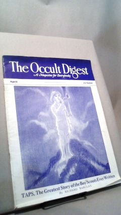 The Occult Digest: A Magazine for Everybody Vol. 7 No. 4 April 1931. Effa DANELSON