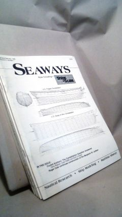 Seaways Ships in Scale Journal of Maritime History and Research Vol. III Nos. 1-6 1992. Jim RAINES