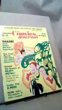 The Comics Journal No. 49 September 1979. Kim THOMPSON