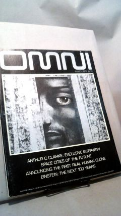 Omni March 1979. Bob Guccione