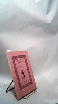 The Crisis of the Film. University of Washington Chapbooks Number 24. John Gould FLETCHER