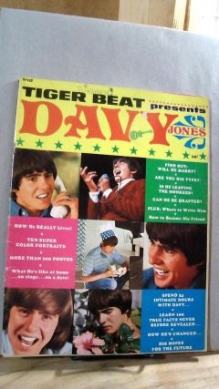 Tiger Beat Presents Davy Jones Winter Issue December 1967. Ralph BENNER, editorial director