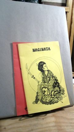 Naginata Women's Warrior Resources Nos. 5 and 6. Two volumes of the magazine. Jessica Amanda...