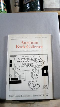 American Book Collector Vol. 5 No. 2 March/April 1984. Anthony FAIR, consulting
