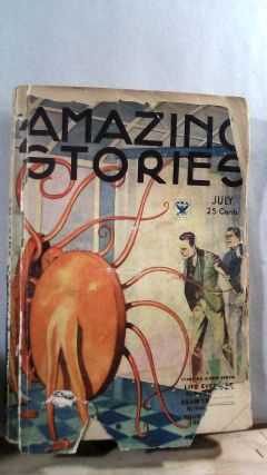 Amazing Stories Science Fiction Vol. 9 No. 3 July 1934