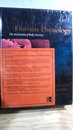 Vander's Human Physiology: The Mechanisms of Body Function 10th Edition. Eric P. WIDMAIER,...