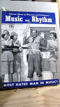 Music and Rhythm Vol. II (2) No. 18 June 1942. Carl CONS, John HAMMOND