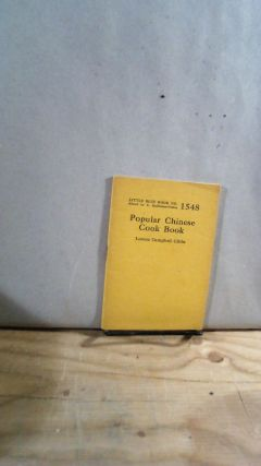 Little Blue Book No. 1548 Popular Chinese Cook Book. Lorene Campbell GIBBS