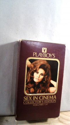 Playboy's Sex in Cinema Collector's Edition Volumes 1-4. Arthur KNIGHT, Hollis ALPERT