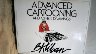 Advanced Cartooning And Other Drawings. B. KLIBAN