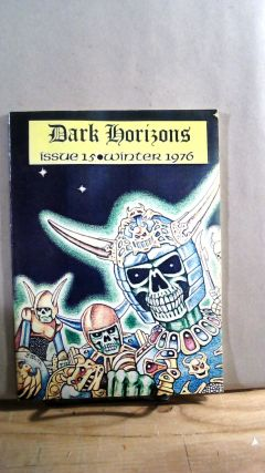Dark Horizons Issue 15 Winter 1976. Stephen JONES