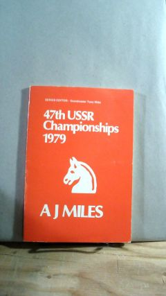 47th USSR Championships 1979. A. J. MILES