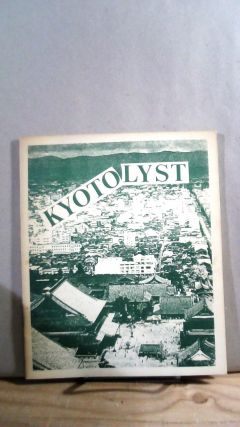 Catalyst #18 Vol. 1 Kyotolyst. M. KETTNER, David Lloyd WHITED