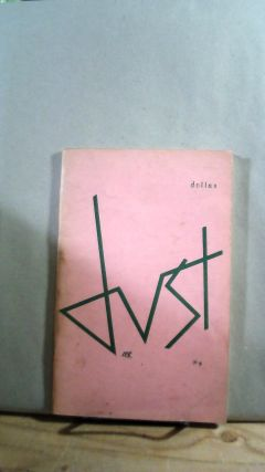 Dust No. 9 Vol. 3 No. 1 Fall 1966. Leonard V. FULTON