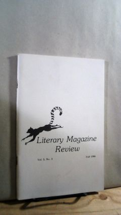 Literary Magazine Review Vol. 5 No. 3 Fall 1986. G. W. CLIFT