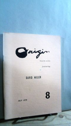 Origin 8: Fourth Series Featuring David Miller July 1979. Cid CORMAN