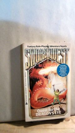 SwordQuest: Quest for the Dragon's eye. Bill FAWCETT