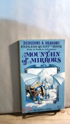 Mountain of Mirrors. A Dungeon & Dragons Endless Quest Book. Rose ESTES