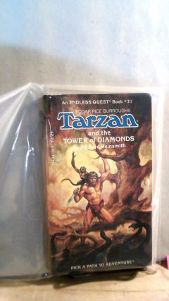 Tarzan and the Tower of Diamonds. Endless Quest Book #31. Richard REINSMITH