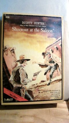 Bounty Hunter Man to Man Western Gunfight Game: Shootout at the Saloon. Mike VITALE, Joe...