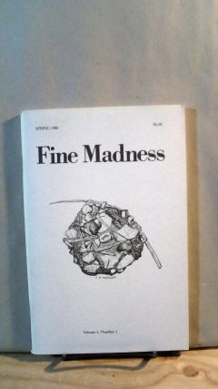 Fine Madness Vol. 3 No. 1 Spring 1986. Sean BENTLEY