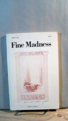 Fine Madness Vol. 4 No. 1 Spring 1987. Sean BENTLEY