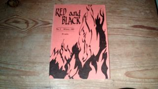 Red and Black: An Anarchist Journal, Winter 1967 No.3