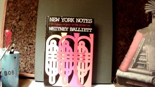NEW YORK NOTES: A Journal of Jazz, 1972-1975. Whitney BALLIETT